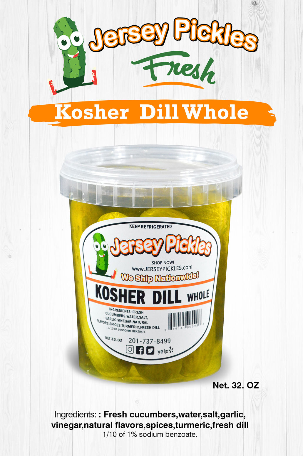 Kosher Dill Whole