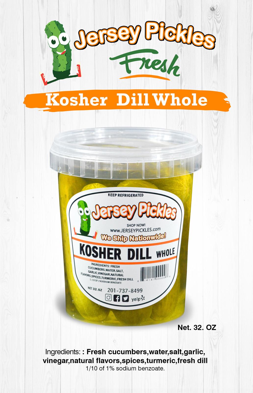 Kosher Dill Whole