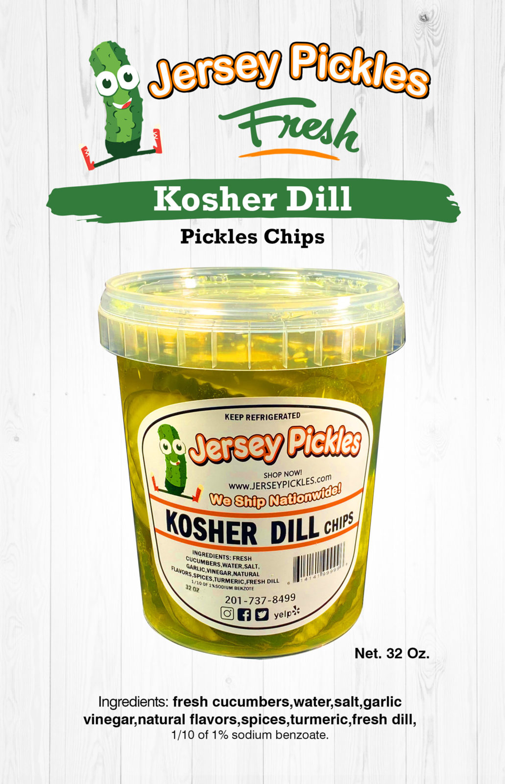 Kosher Dill Chips